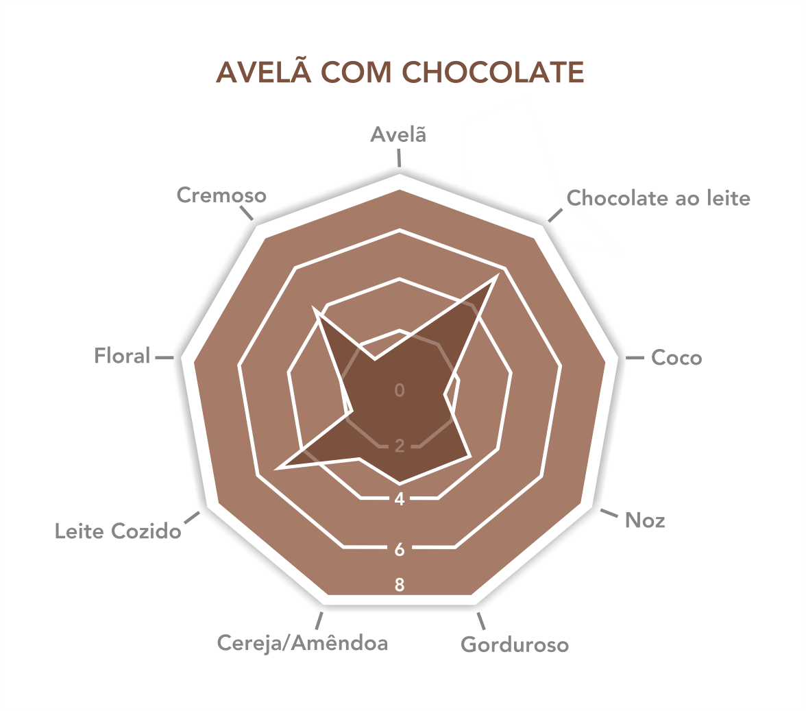 Avelã com Chocolate